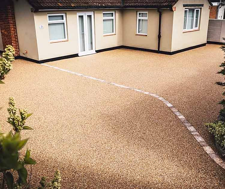 example of a resin bound driveway