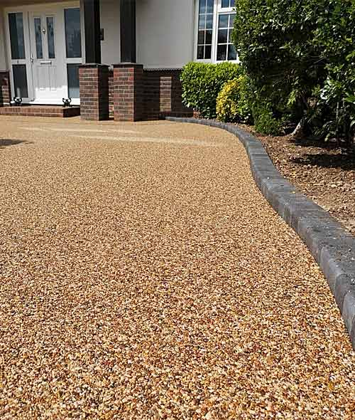 resin bound driveway in new-forest